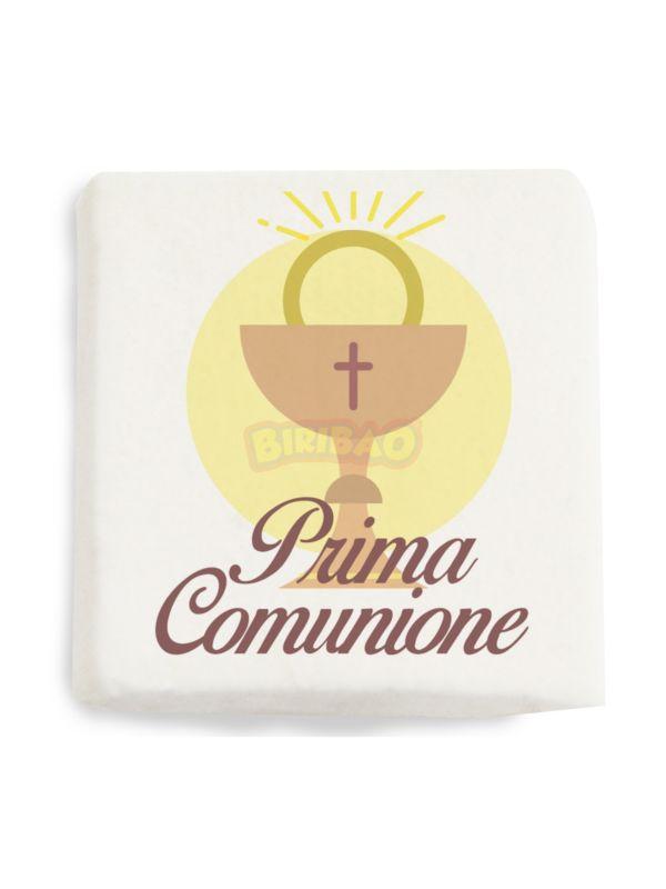 QUADRATINI PRIMA COMUNIONE CALICE - 20 PZ